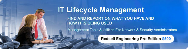 Redcell Engineering Pro Edtion $500 - IT Lifecycle Management