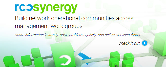Redcell Synergy - Build network operational communities across management work groups